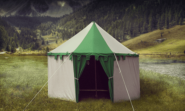 The Knight Larp Tents