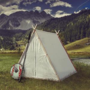 viking larp tent