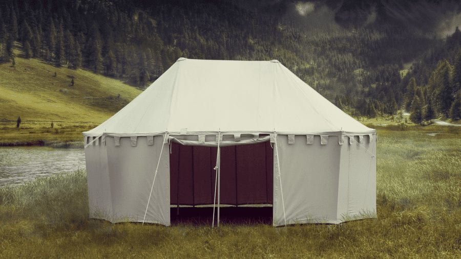medieval noble tent